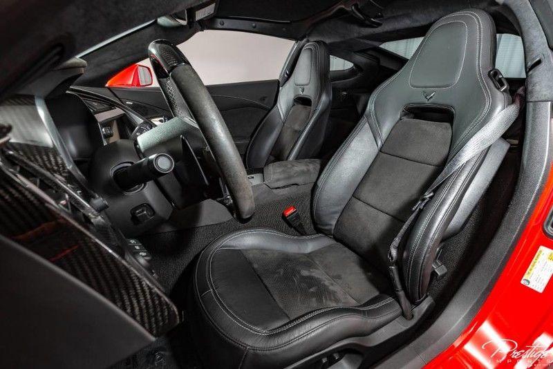 2018 Chevy Corvette Z51 Interior Cabin Seating