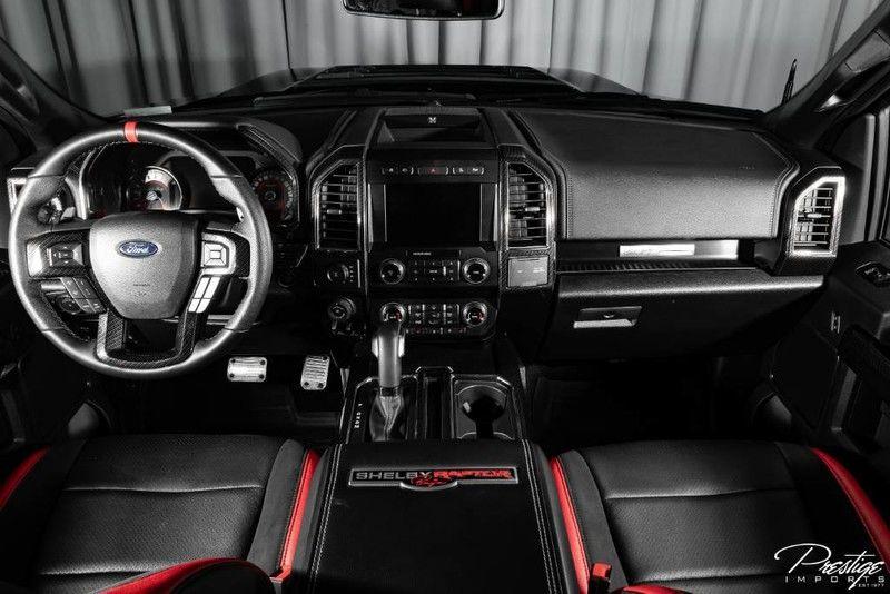 2019 Ford F-150 Raptor Interior Cabin Dashboard