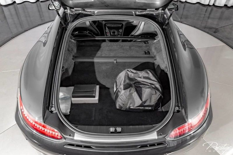 2019 Mercedes-Benz AMG GT C Interior Cabin Cargo Area