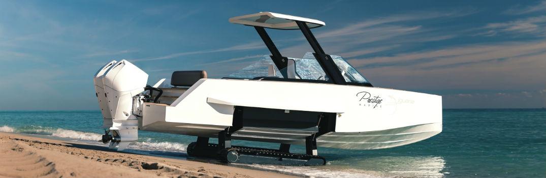 2020 Iguana Yachts Commuter Sport Rear Starboard Profile