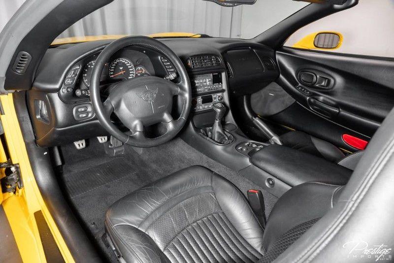 2001 Chevy Corvette Interior Cabin Dashboard