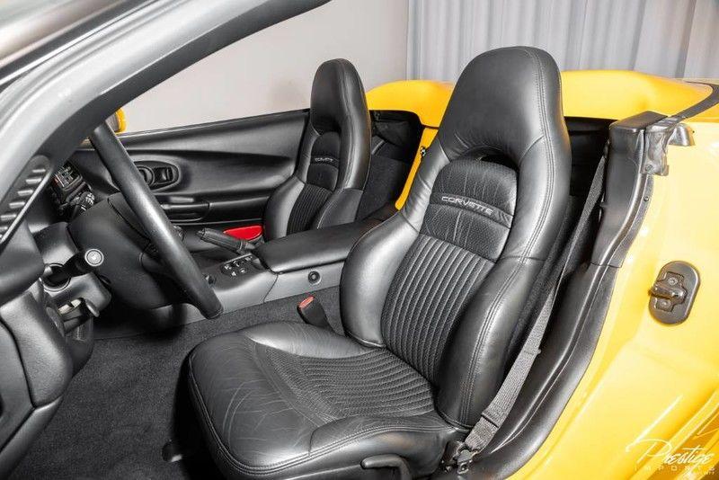 2001 Chevy Corvette Interior Cabin Seating
