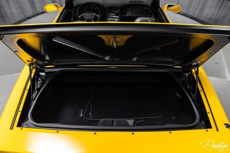 2001 Chevy Corvette Interior Trunk Space