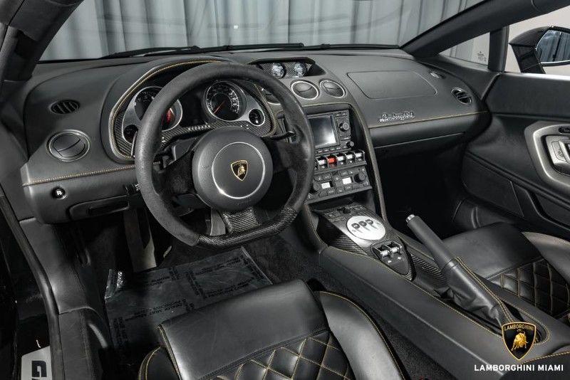 2010 Lamborghini Gallardo Spyder Interior Cabin Dashboard
