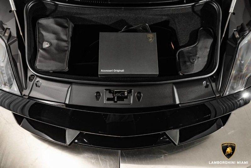 2010 Lamborghini Gallardo Spyder Interior Hood Trunk