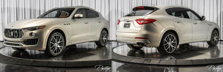 2017 Maserati Levante S Exterior Driver Side Front Passenger Rear Profiles