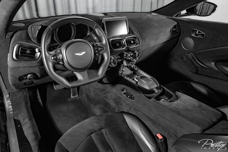 2019 Aston Martin Vantage Interior Cabin Dashboard