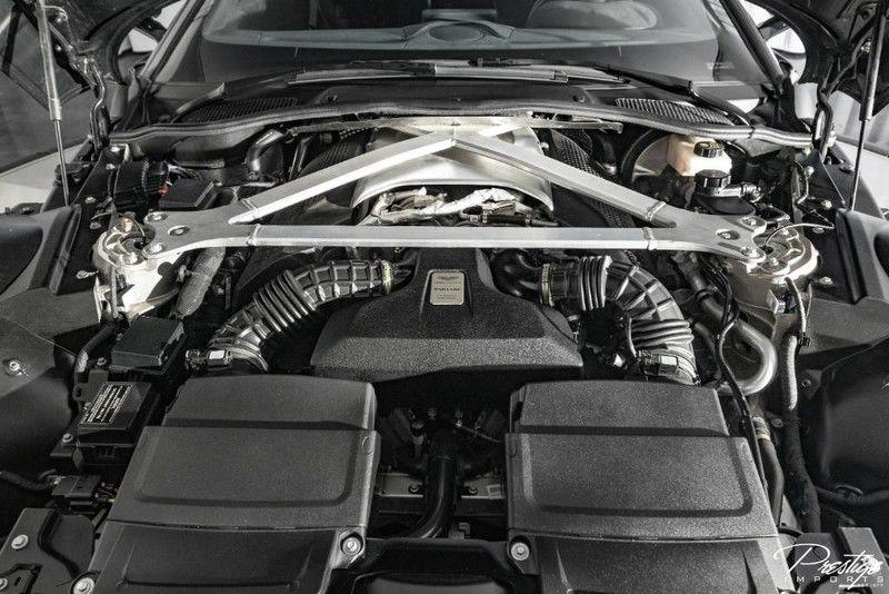 2019 Aston Martin Vantage Interior Engine Bay