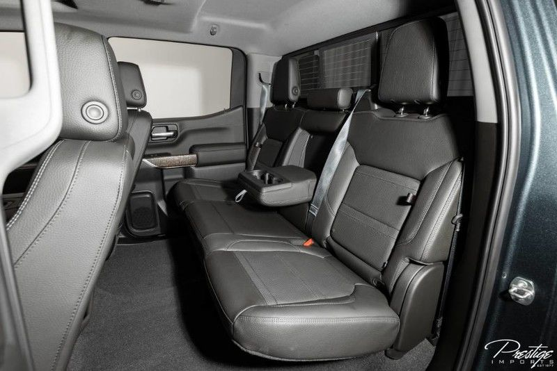 2019 GMC Sierra 1500 Denali Interior Cabin Rear Seating