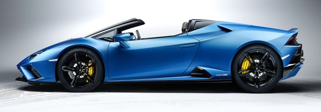 2020 Lamborghini Huracan EVO Rear-Wheel Drive Spyder Power Specs & Performance Times
