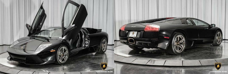 2008 Lamborghini Murcielago Exterior Driver Side Front Passenger Rear Profiles