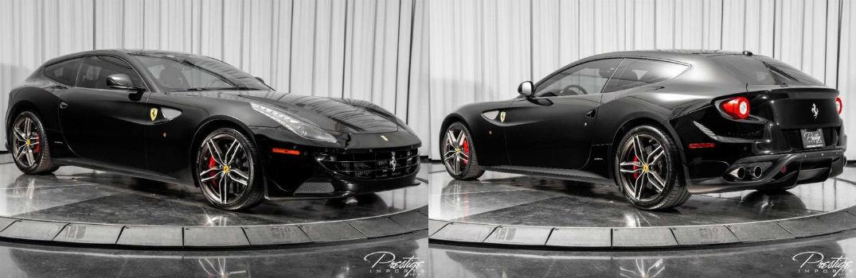2014 Ferrari FF Exterior Passenger Side Front Driver Rear Profiles