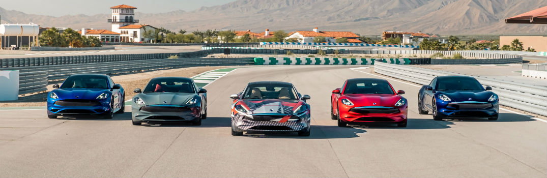 Watch the Karma Automotive E-Flex EV Prototype at Thermal Race Club