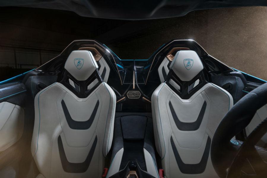 Lamborghini Sian Roadster Interior Cabin Seating
