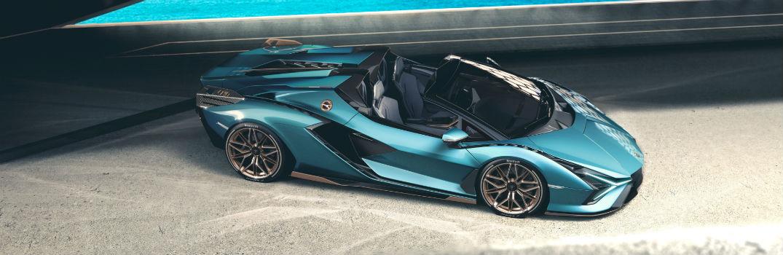 Watch the World Premiere of the Lamborghini Sian Roadster Online