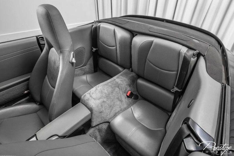 2008 Porsche 911 Carrera Interior Cabin Rear Seating