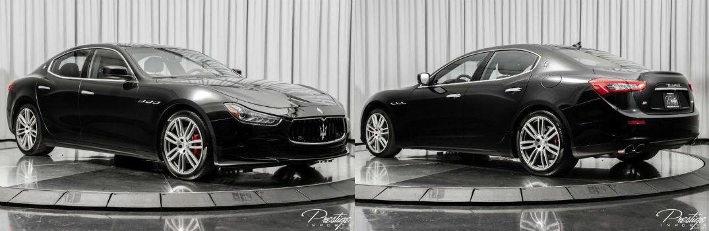 2016 Maserati Ghibli S Q4 Exterior Passenger Side Front Driver Rear Profiles