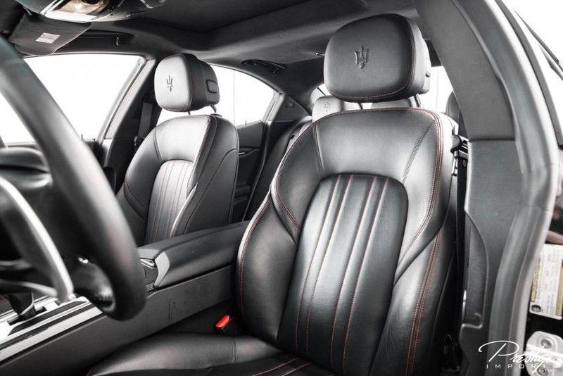 2016 Maserati Ghibli S Q4 Interior Cabin Seating