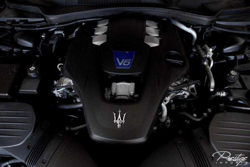 2016 Maserati Ghibli S Q4 Interior Engine Bay