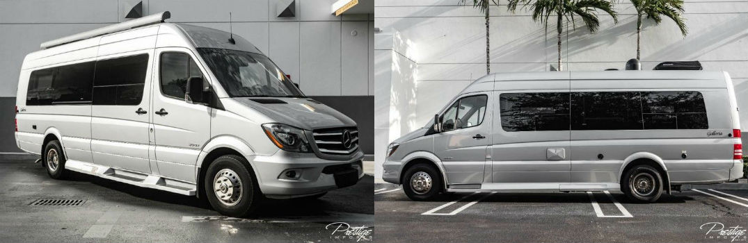 2016 Mercedes-Benz Sprinter Chassis-Cab Exterior Passenger Front Driver Side Profiles