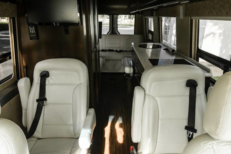 2016 Mercedes-Benz Sprinter Chassis-Cab Interior Cabin Seating & More