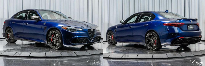 2018 Alfa Romeo Giulia Quadrifoglio Exterior Passenger Side Front Driver Rear Profiles