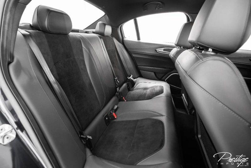 2018 Alfa Romeo Giulia Quadrifoglio Interior Cabin Rear Seating
