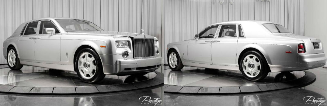 2005 Rolls-Royce Phantom Exterior Passenger Side Front Driver Rear Profiles