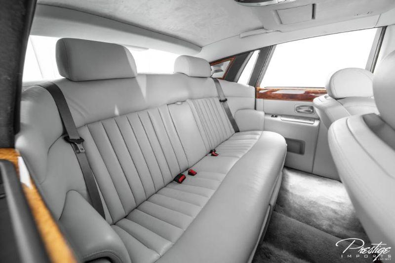 2005 Rolls-Royce Phantom Interior Cabin Rear Seating