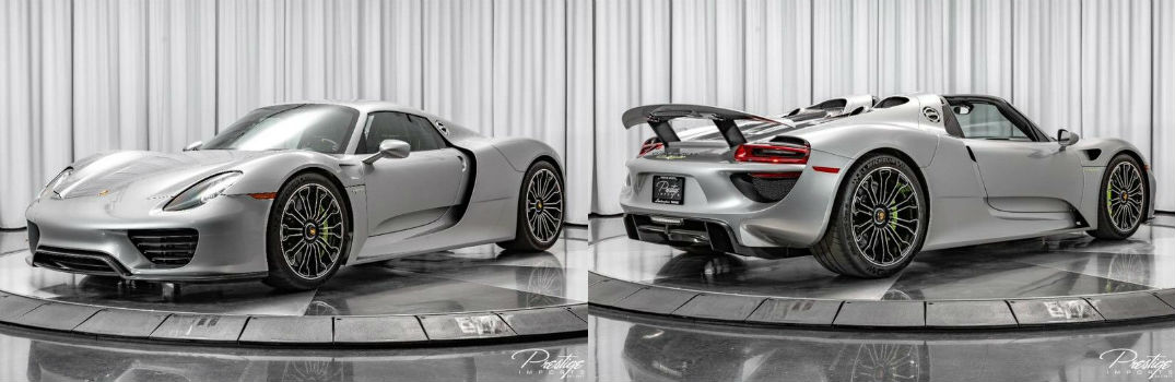 2015 Porsche 918 Spyder For Sale North Miami Beach FL
