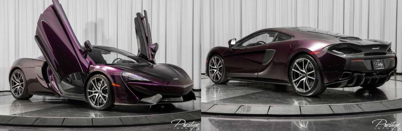 2017 McLaren 570GT Exterior Passenger Side Front Driver Rear Profiles