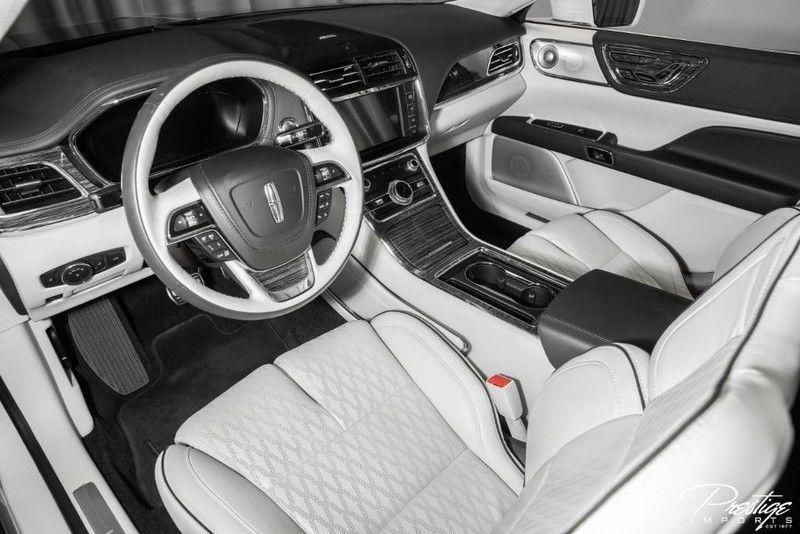 2019 Lincoln Continental Black Label Interior Cabin Dashboard