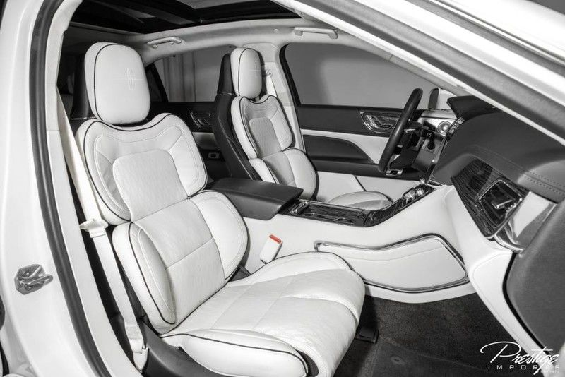 2019 Lincoln Continental Black Label Interior Front Seating