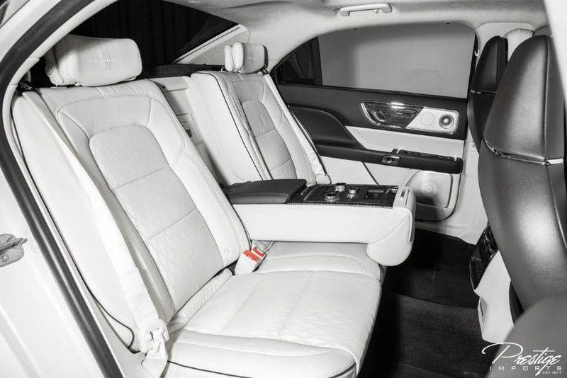 2019 Lincoln Continental Black Label Interior Rear Seating