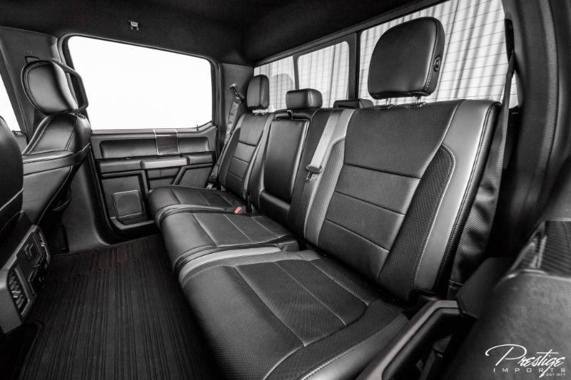 2020 Ford F-150 Raptor Interior Cabin Rear Seating