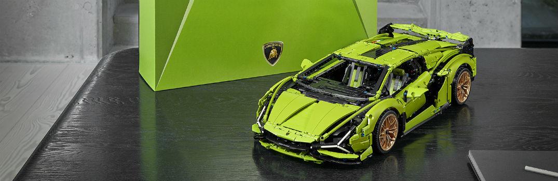 Watch how the LEGO Technic Lamborghini Sian FKP 37 was Created