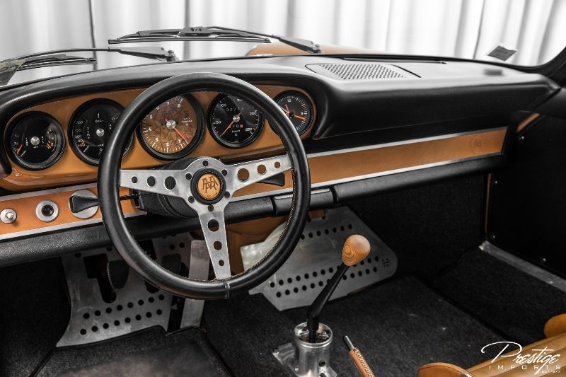 1972 Porsche 911 Nemesis Interior Cabin Dashboard