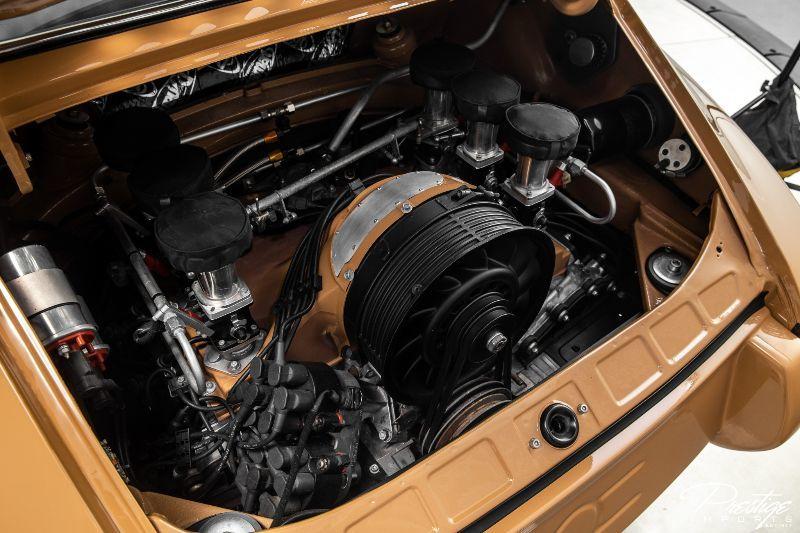 1972 Porsche 911 Nemesis Interior Engine Bay