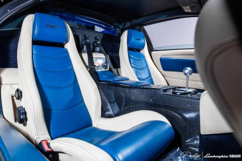 2001 Lamborghini Diablo VT 6.0 Interior Cabin Seating
