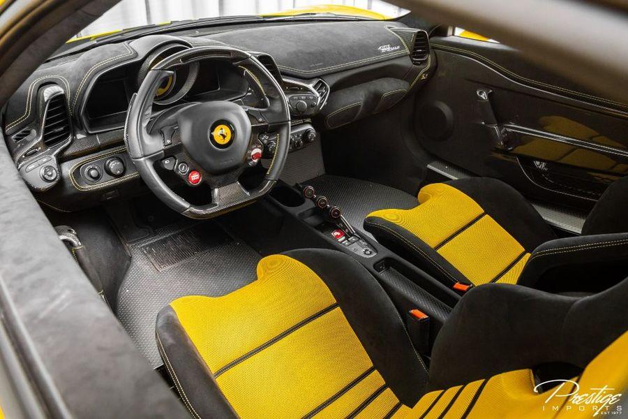 2014 Ferrari 458 Italia Speciale Interior Cabin Dashboard