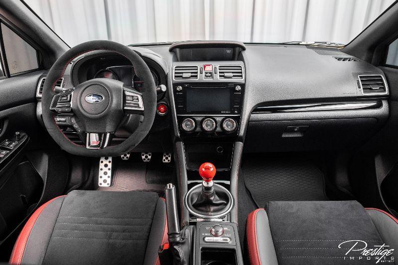 2018 Subaru WRX STI Type RA Interior Cabin Dashboard