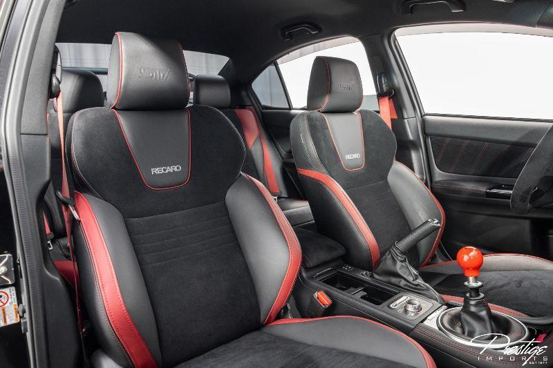 2018 Subaru WRX STI Type RA Interior Cabin Front Seating