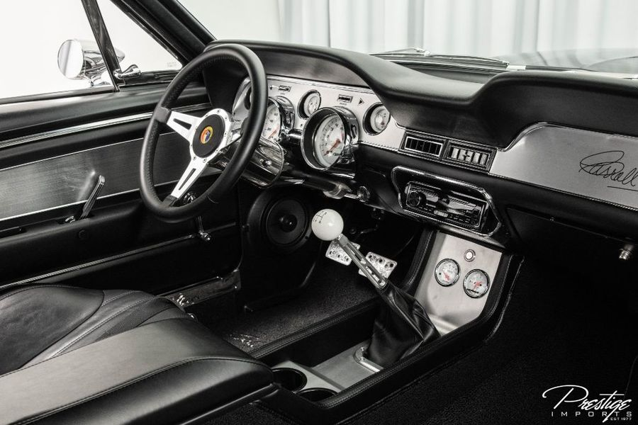 1967 Ford Shelby GT500CR Recreation Interior Cabin Dashboard