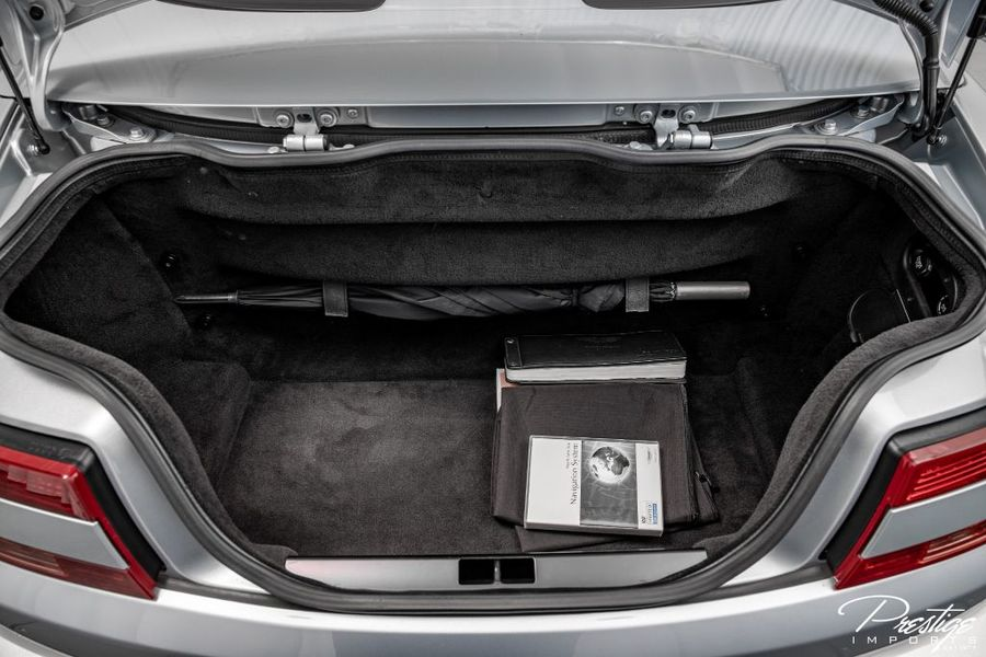 2008 Aston Martin Vantage Interior Trunk Space