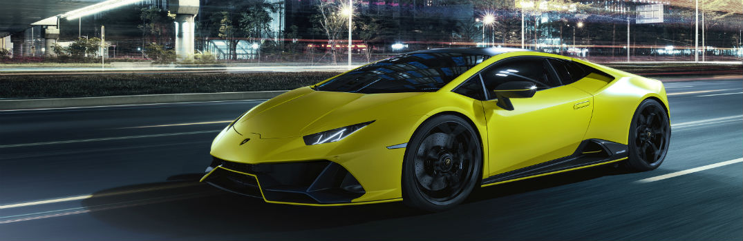 New Fluo Capsule Color Options for Lamborghini Huracan EVO