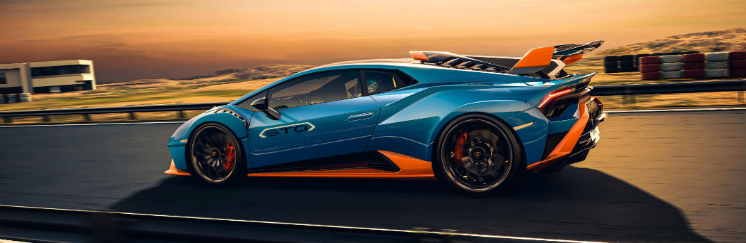What's new in the 2021 Lamborghini Huracan STO?