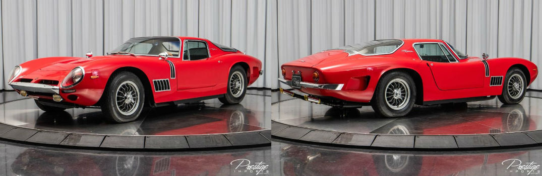 1968 Bizzarrini 5300 GT Strada Exterior Driver Side Front Passenger Rear Profiles