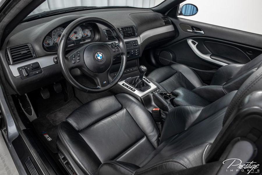 2004 BMW 3 Series M3 Interior Cabin Dashboard