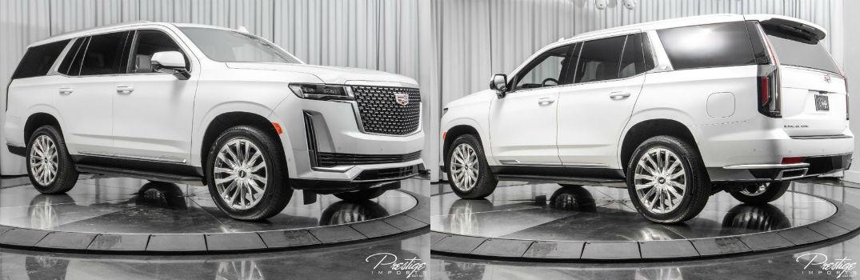 2021 Cadillac Escalade Premium Luxury Exterior Passenger Side Front Driver Rear Profiles