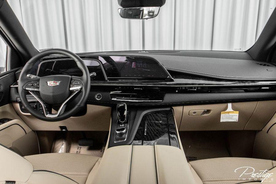 2021 Cadillac Escalade Premium Luxury Interior Cabin Dashboard